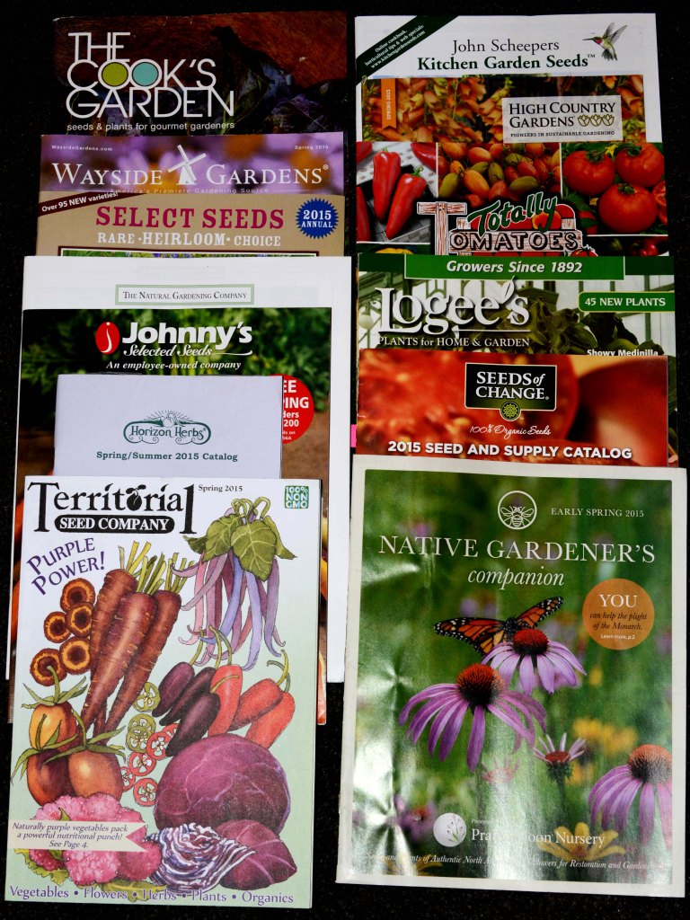 Some interesting plant and seed catalogs