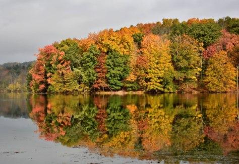 Reservoir-autumn